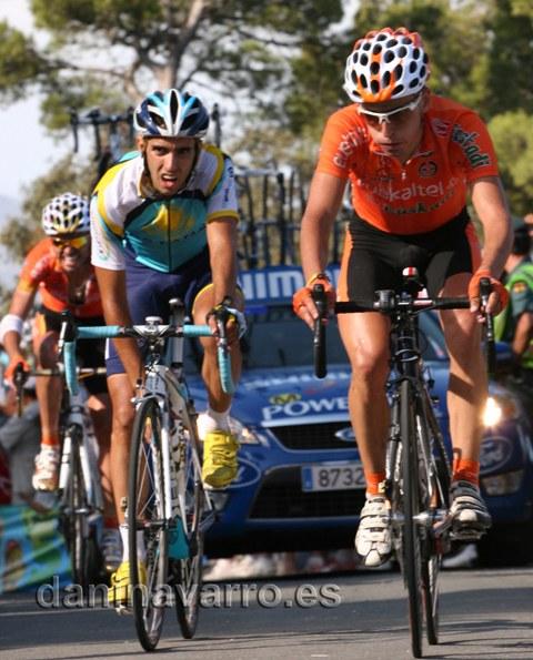 Subida al Catí en la Vuelta España 2009